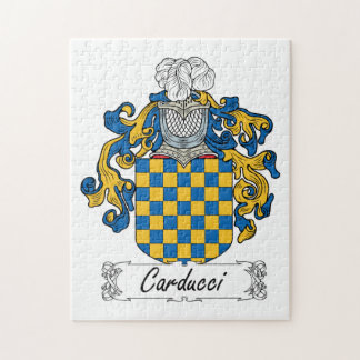 Escudo de la familia de Carducci Puzzles