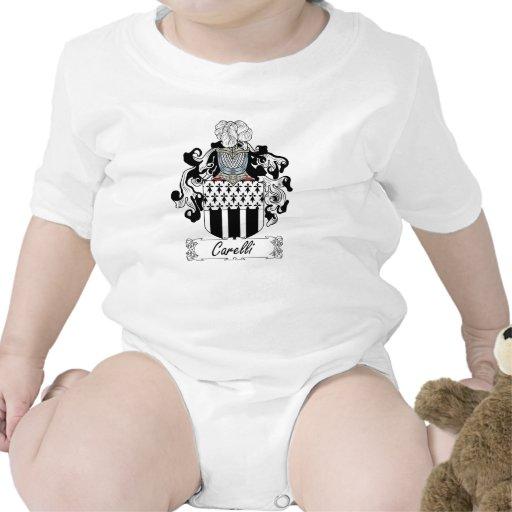 Escudo de la familia de Carelli Traje De Bebé