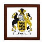 Escudo de la familia de Carew Cajas De Joyas