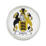 Escudo de la familia de Carew Insignia