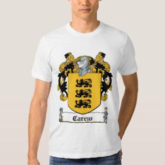 Escudo de la familia de Carew Remera