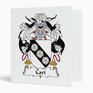 Escudo de la familia de Cari