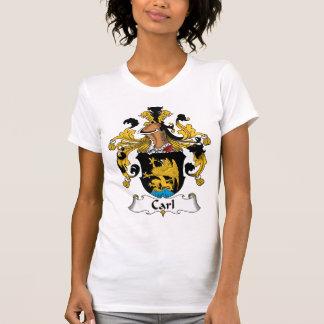 Escudo de la familia de Carl Camisetas