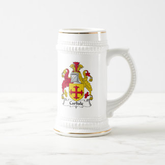 Escudo de la familia de Carlisle Jarra De Cerveza