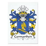Escudo de la familia de Carmarthen Comunicados