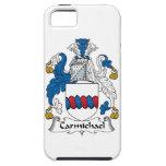 Escudo de la familia de Carmichael iPhone 5 Cárcasa