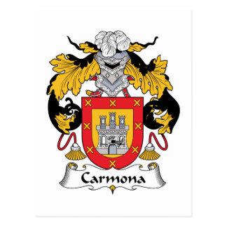 Escudo de la familia de Carmona Postales