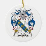 Escudo de la familia de Carneiro Adorno De Navidad