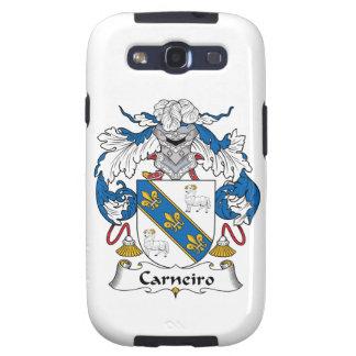 Escudo de la familia de Carneiro Samsung Galaxy SIII Funda