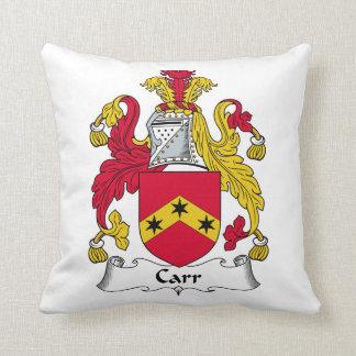 Escudo de la familia de Carr Cojín
