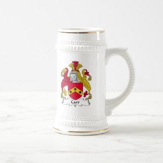 Escudo de la familia de Carr Jarra De Cerveza