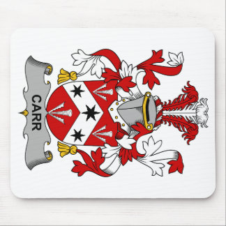 Escudo de la familia de Carr Mousepads