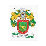 Escudo de la familia de Carreno Lienzo Envuelto Para Galerías