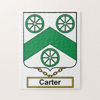 Escudo de la familia de Carretero Puzzles Con Fotos