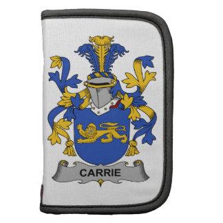 Escudo de la familia de Carrie Planificadores
