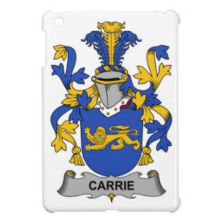 Escudo de la familia de Carrie iPad Mini Cárcasas