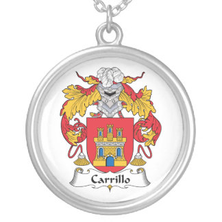 Escudo de la familia de Carrillo Pendiente