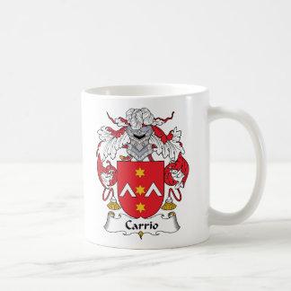 Escudo de la familia de Carrio Taza De Café