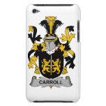 Escudo de la familia de Carroll iPod Touch Case-Mate Cárcasas