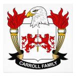 Escudo de la familia de Carroll Comunicados Personales