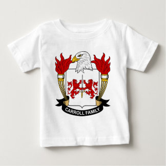 Escudo de la familia de Carroll T-shirts