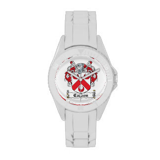 Escudo de la familia de Carson Relojes