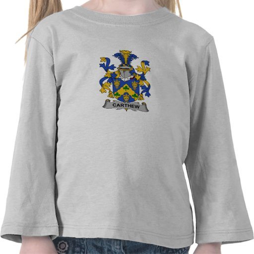 Escudo de la familia de Carthew Camiseta