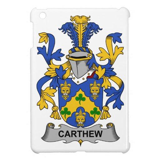 Escudo de la familia de Carthew iPad Mini Coberturas
