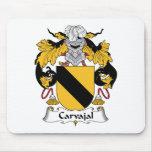 Escudo de la familia de Carvajal Alfombrilla De Ratones