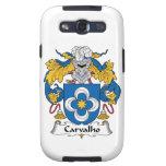 Escudo de la familia de Carvalho Samsung Galaxy S3 Cárcasas