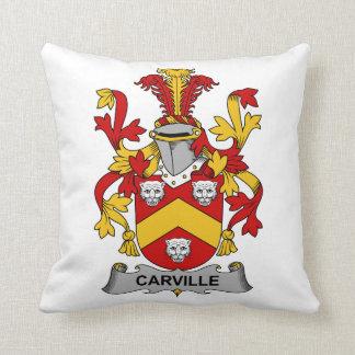 Escudo de la familia de Carville Cojin