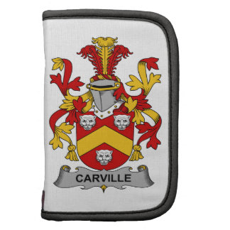 Escudo de la familia de Carville Planificadores