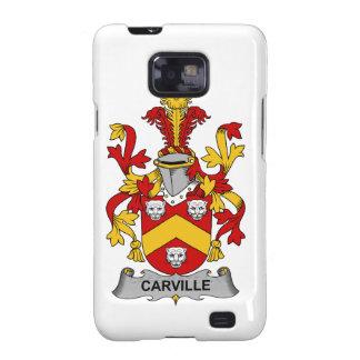 Escudo de la familia de Carville Samsung Galaxy SII Carcasas