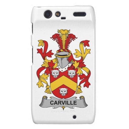 Escudo de la familia de Carville Motorola Droid RAZR Carcasa