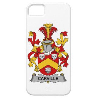 Escudo de la familia de Carville iPhone 5 Case-Mate Protector