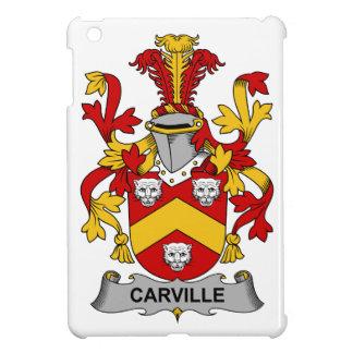 Escudo de la familia de Carville iPad Mini Cárcasa