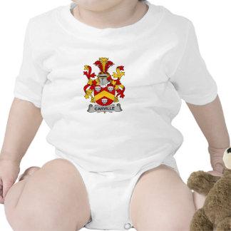 Escudo de la familia de Carville Traje De Bebé