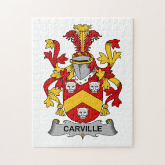 Escudo de la familia de Carville Puzzle Con Fotos