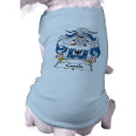 Escudo de la familia de Casals Camisetas De Perro