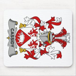 Escudo de la familia de Cassidy Alfombrilla De Ratones