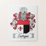 Escudo de la familia de Castagna Puzzles Con Fotos