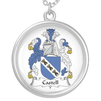Escudo de la familia de Castell Colgante Redondo