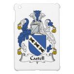 Escudo de la familia de Castell iPad Mini Protectores
