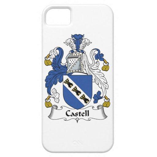 Escudo de la familia de Castell iPhone 5 Carcasa