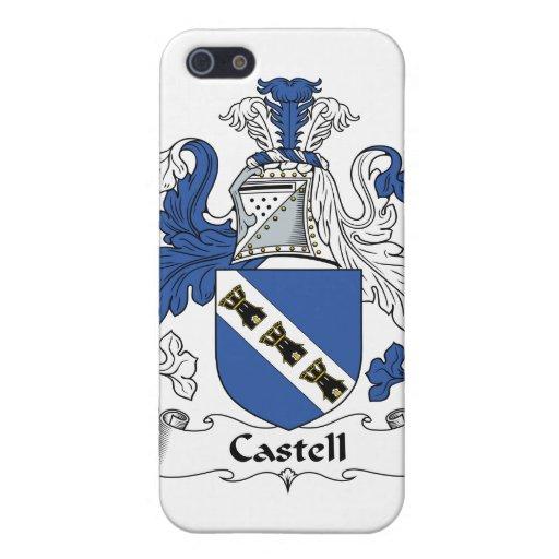 Escudo de la familia de Castell iPhone 5 Carcasas