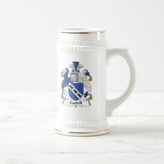 Escudo de la familia de Castell Taza