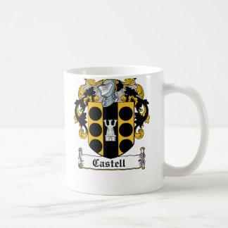 Escudo de la familia de Castell Tazas De Café