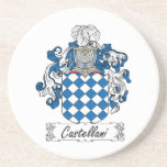 Escudo de la familia de Castellani Posavasos Manualidades