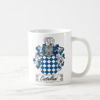 Escudo de la familia de Castellani Tazas