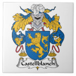 Escudo de la familia de Castellblanch Azulejos Cerámicos